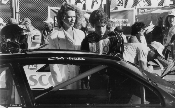 Tom Cruise and Nicole Kidman in Days of Thunder
