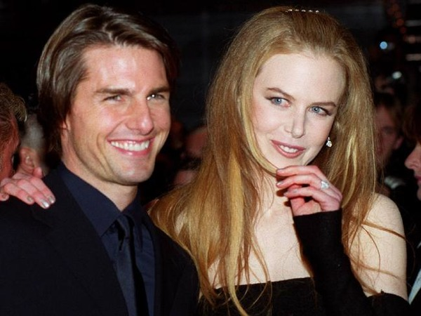 Tom Cruise and his second wife Nicole Kidman