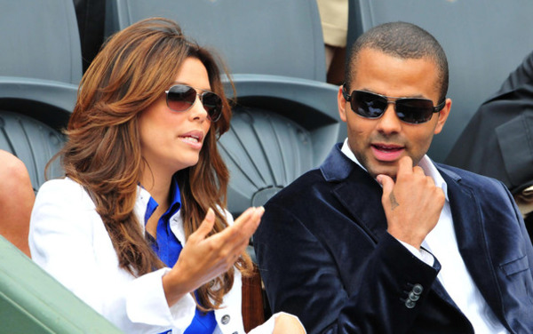 Tony Parker loved Eva Longoria at first sight