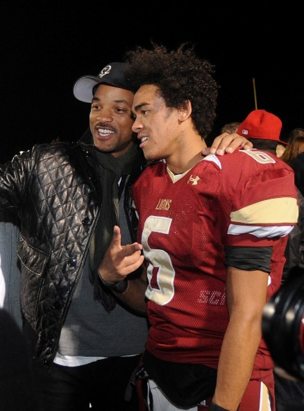 Will Smith supported Trey's interest in playing football