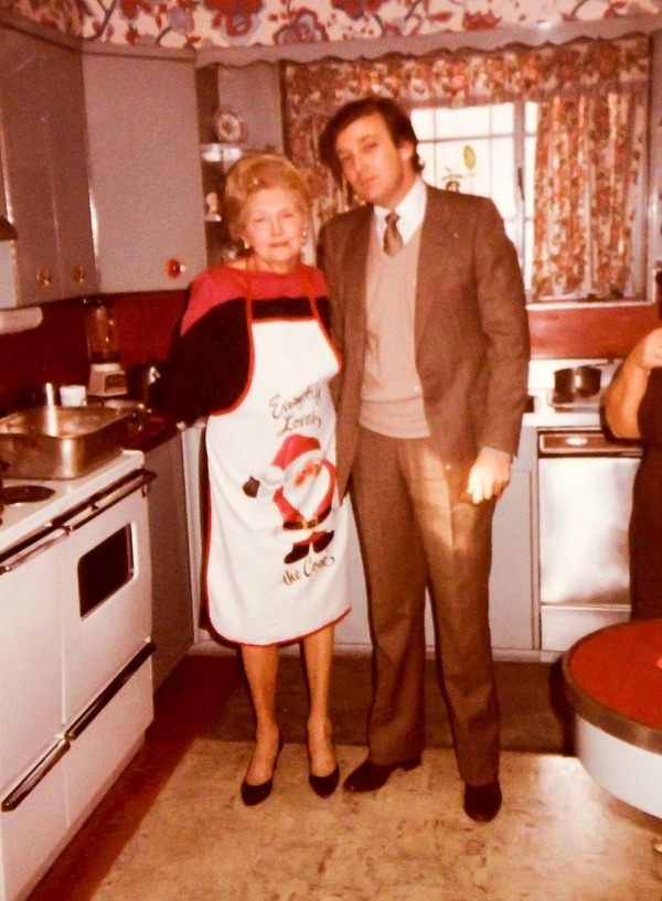 Donald and Mary Anne Trump