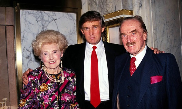 Donald Trump parents Fred and Mary Anne Trump