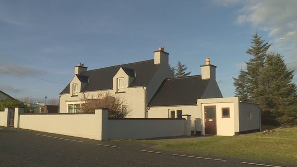 Trump's mother childhood home in Scotland