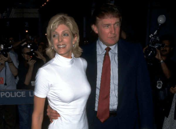 Marla Maples returned to California with her daughter after the divorce to Donald Trump