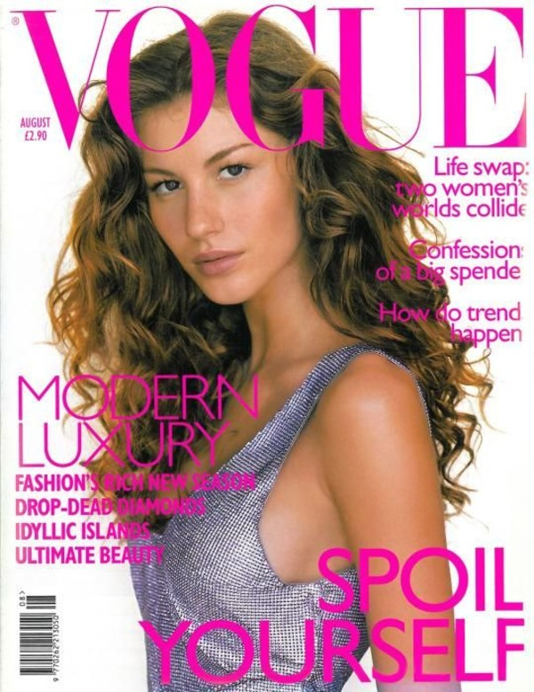 Gisele Bündchen graces Vogue cover