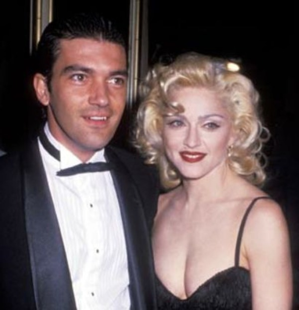 Madonna and Banderas were rumored to have an affair