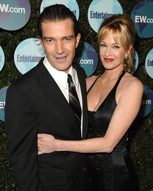 Antonio Banderas and Melanie Griffith got married in London