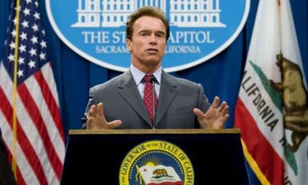 Arnold Schwarzenegger as Governor of California