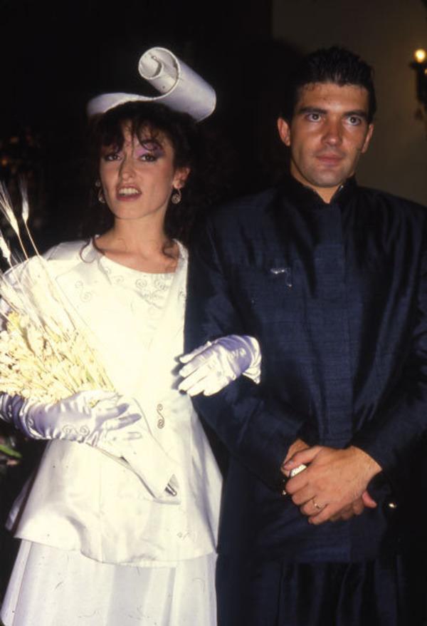 Antonio Banderas and Ana Leza wedding