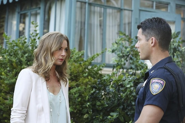 Emily VanCamp and Brian Hallisay in Revenge