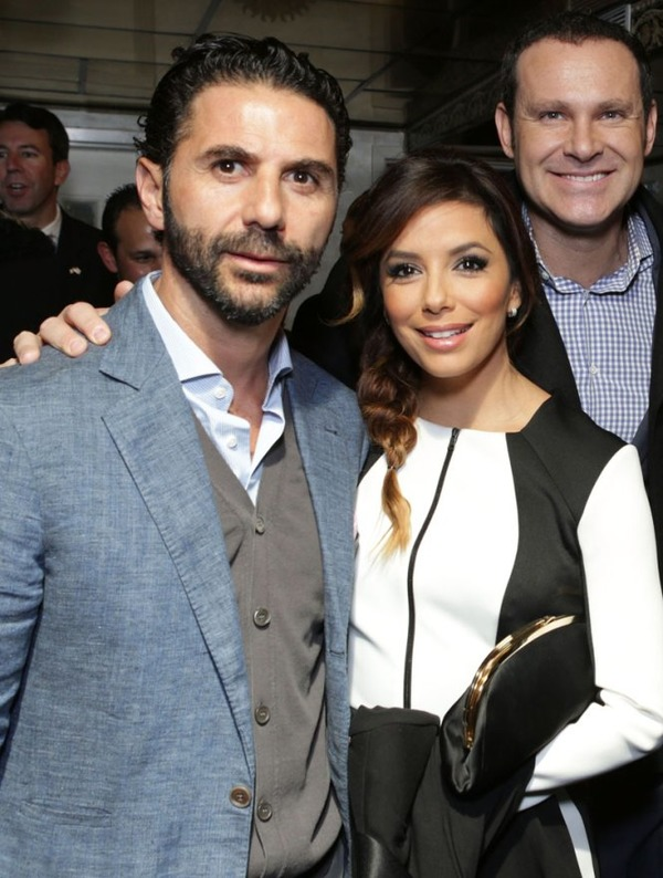 Eva Longoria and her third husband Jose Baston