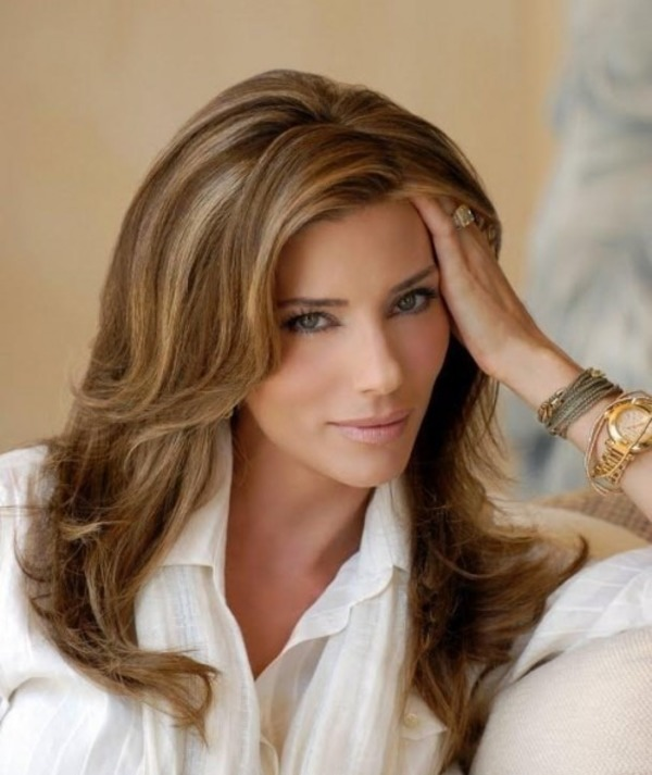 The current wife of Sylvester Stallone - Jennifer Flavin