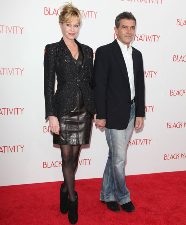 Antonio Banderas supported Melanie Griffith during her drug problems