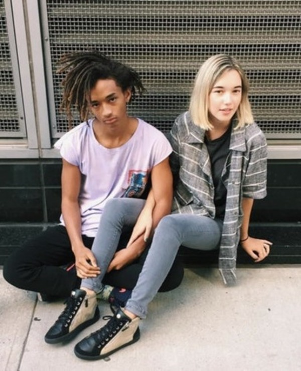 Jaden Smith and his ex-girlfriend Sarah Snyder