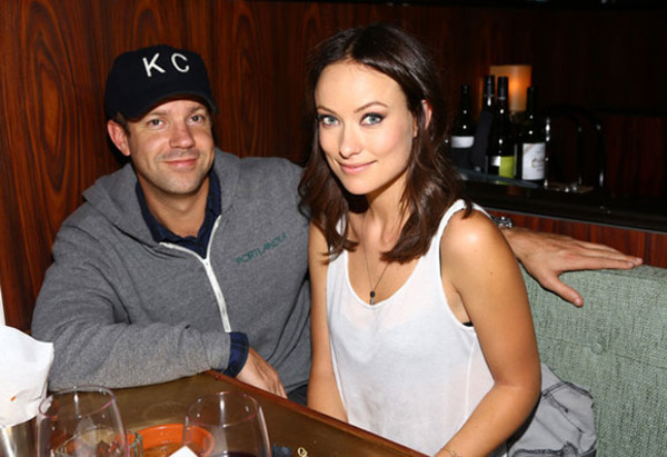 Olivia Wilde liked Jason Sudeikis at first sight