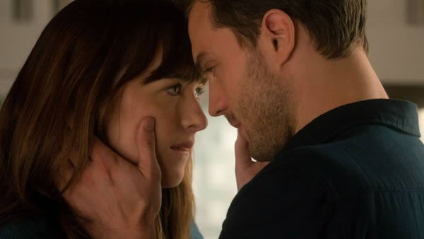 Dakota Johnson and Jamie Dornan in 50 Shades Darker