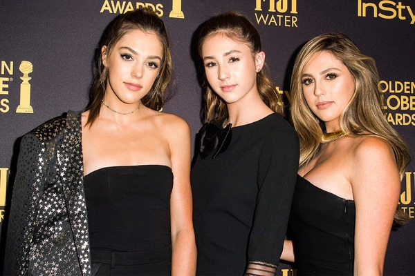 Sylvester Stallone daughters as Miss Golden Globes