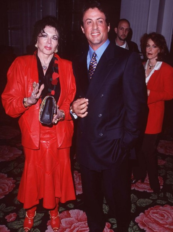 Sylvester Stallone with his mother Jackie
