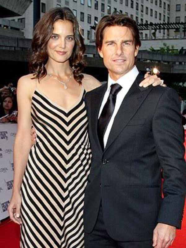 Tom Cruise and Katie Holmes divorced in 2012