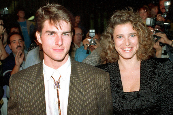 It was Mimi Rogers, who introduced Tom Cruise to scientology
