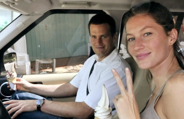 Tom Brady and Gisele Bündchen got engaged in 2008
