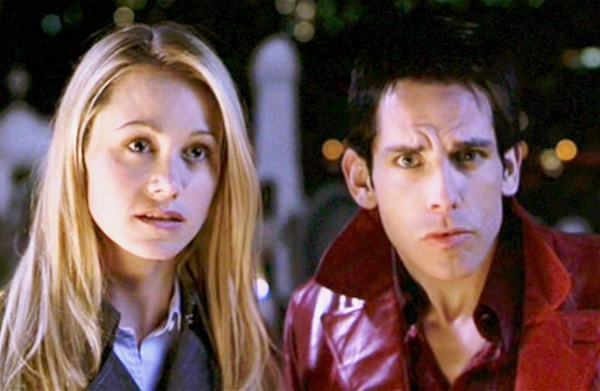 Christine Taylor and Ben Stiller met at a film set