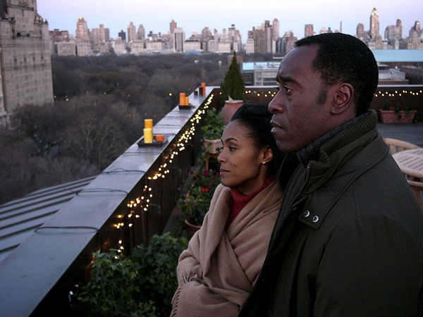 Don Cheadle and Jada Pinkett Smith in Reign Over Me