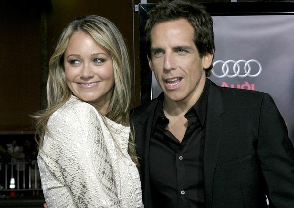 Ben Stiller and Chrisine Taylor got married in 2000