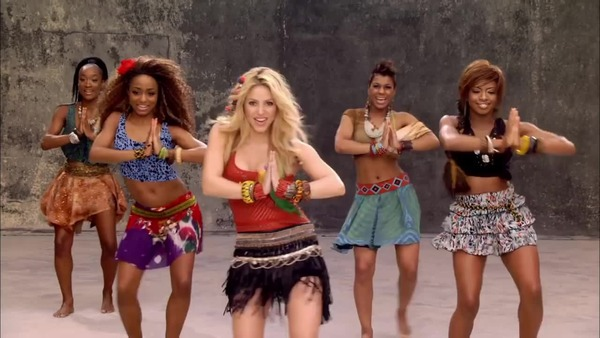 Shakira music video Waka Waka