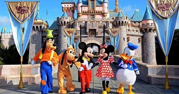 Disneyland - the park, which Walt Disney created