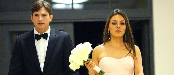 Ashton Kutcher and Mila Kunis wedding