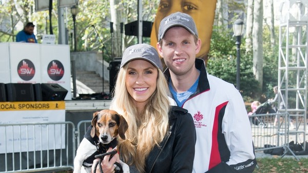 Eric Trump with his wife