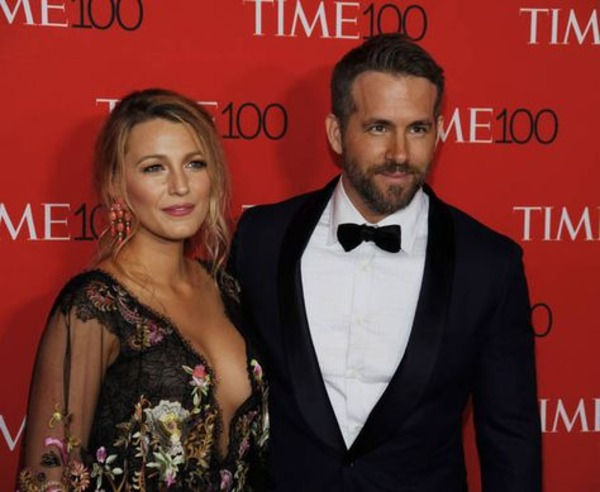 Blake Lively and her husband Ryan Reynolds