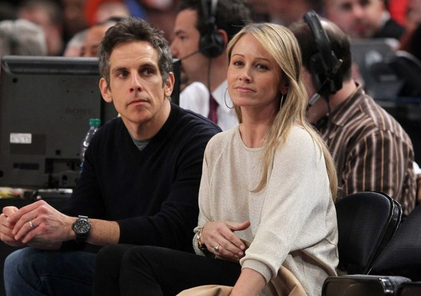 Ben Stiller and Chrisine Taylor remained friends