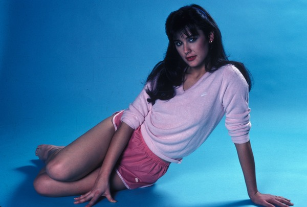 Demi Moore young