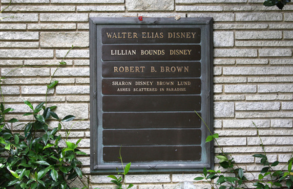 Walt Disney grave