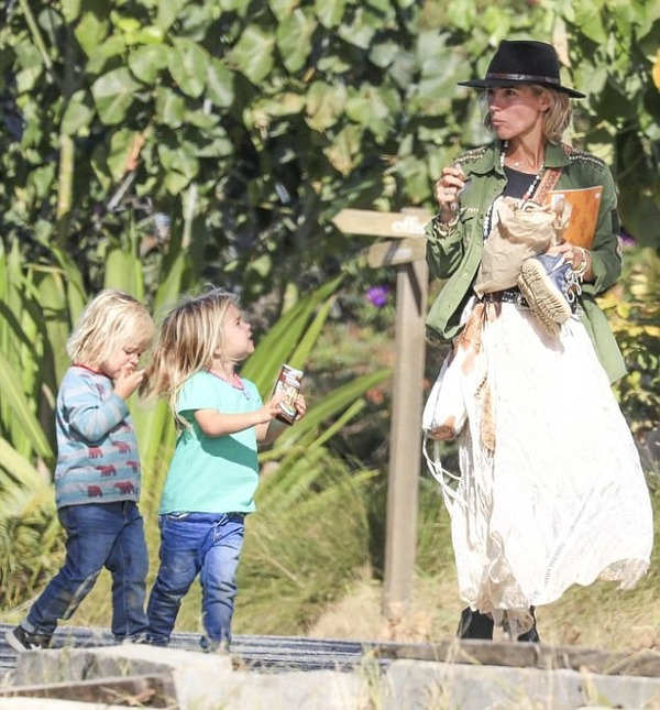 Elsa Pataky and  Chris Hemsworth kids