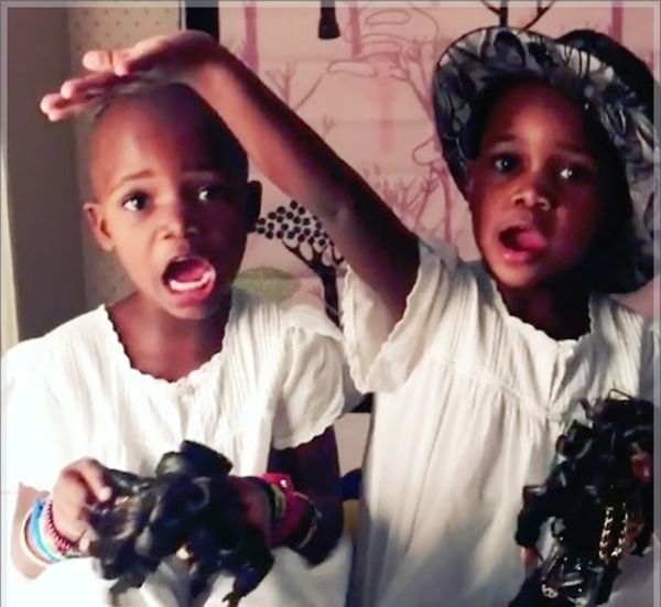 Madonna youngest kids Estere Ciccone and Stelle Ciccone