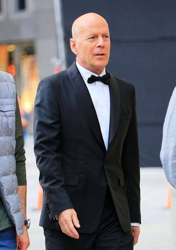 Bruce Willis is proud to be a father