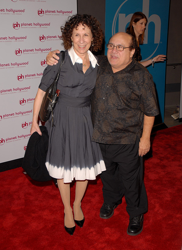 Danny DeVito and his wife Rhea Perlman