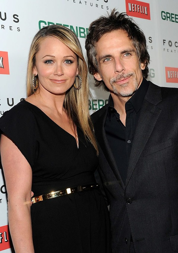 Ben Stiller and his ex wife Christine Taylor
