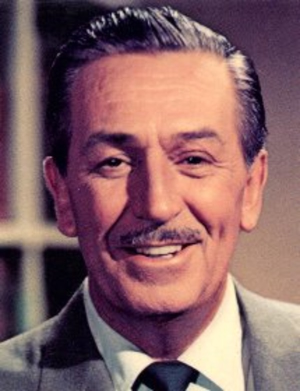 Walt Disney came from poverty on top