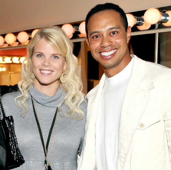 Elin Nordegren gained popularity as Tiger Woods GF
