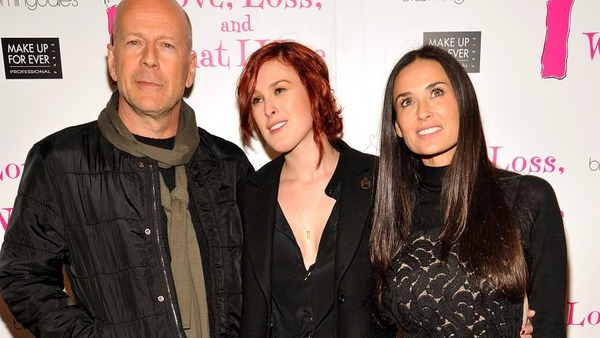 Rumer Willis parents Bruce Willis and Demi Moore