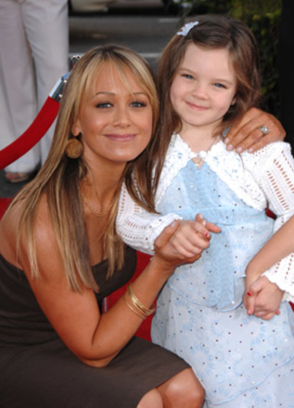 Ben Stiller wife Christine Taylor with her daughter Ella
