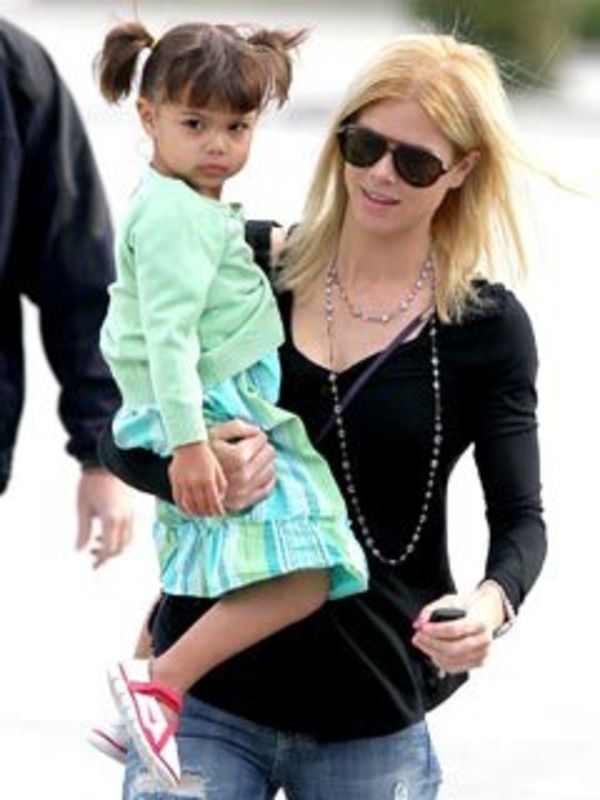 Tiger Woods ex-wife Elin Nordegren and their daughter Sam