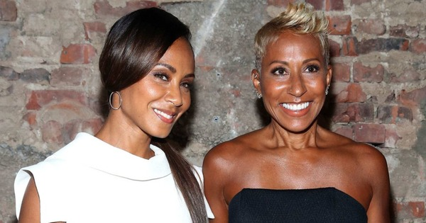 Jada Pinkett-Smith and her mother