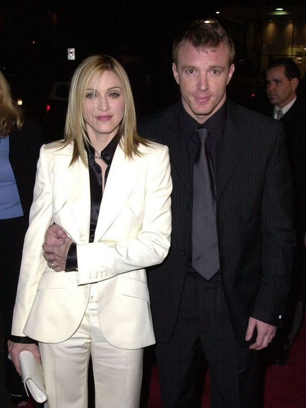 Madonna and her ex-husband Guy Ritchie