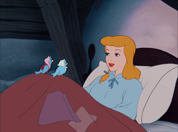 "Walt Disney cartoon ""Cinderella"""