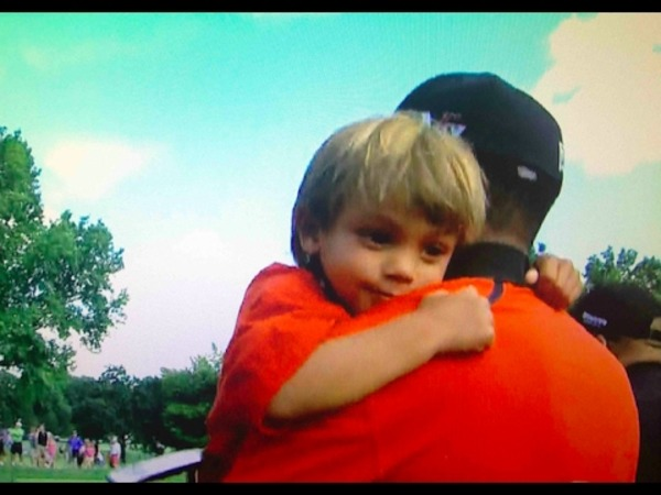 Tiger Woods son Charlie